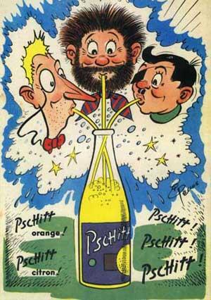 Les affiches du temps passé quand la pub s'appelait réclame .. - Page 2 001
